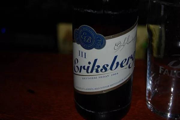 Eriksberg, cerveza sueca