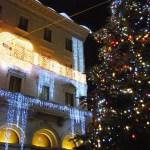 Escaparate de Fendi en Roma en Navidad