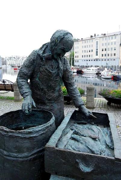 Estatua en Alesund, Noruega