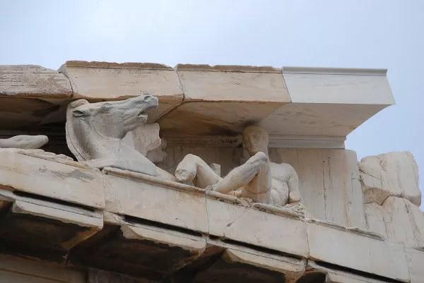 Estatuas del Partenón