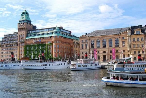 Estocolmo desde el agua