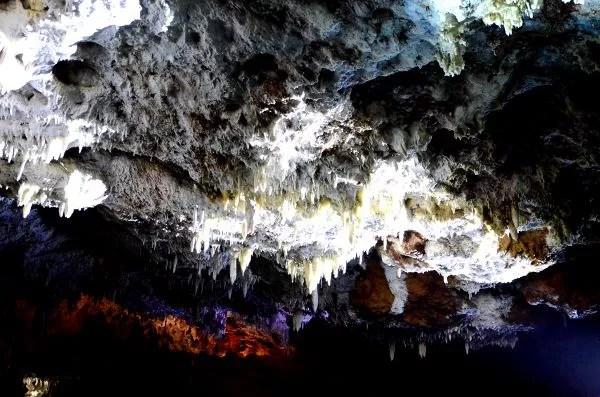 Formaciones de la Cueva del Soplao en Cantabria