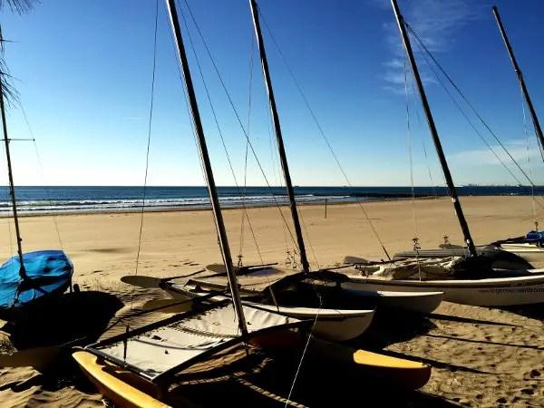 Fotos Benicassim, playa y veleros