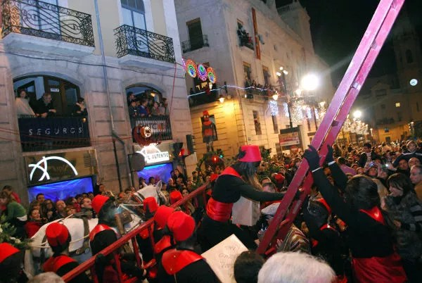 Fotos Cabalgata de Reyes Magos Alcoy, pajes