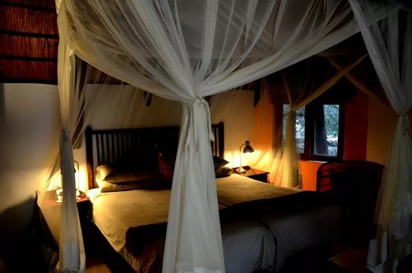 Fotos Cheetah Plains en el Kruger de Sudafrica, cama