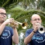 Fotos Delta del Ebro. Siega del arroz, banda de musica