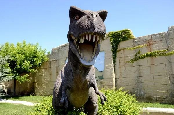 Fotos Dinópolis Teruel, boca de dinosaurio