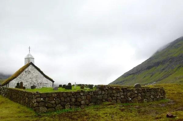 Fotos Islas Feroe, Saksun. Iglesia