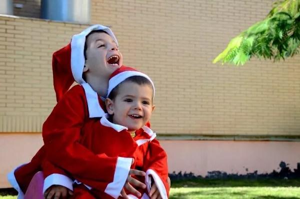 Fotos Navidad, Teo y Oriol