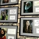 Fotos Osuna Museo Juego de Tronos, fotos y firmas