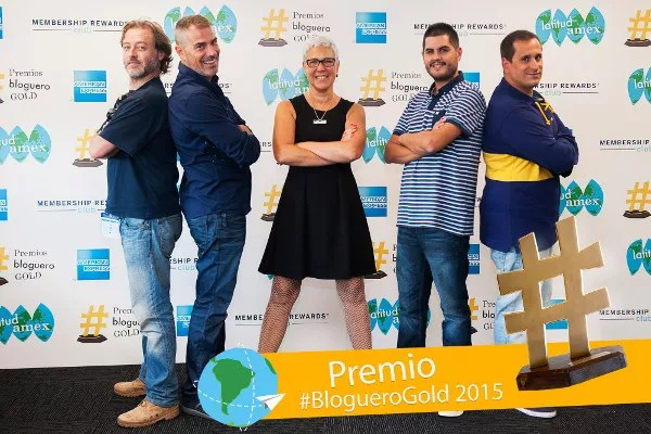 Fotos Premios #BlogueroGold, finalistas