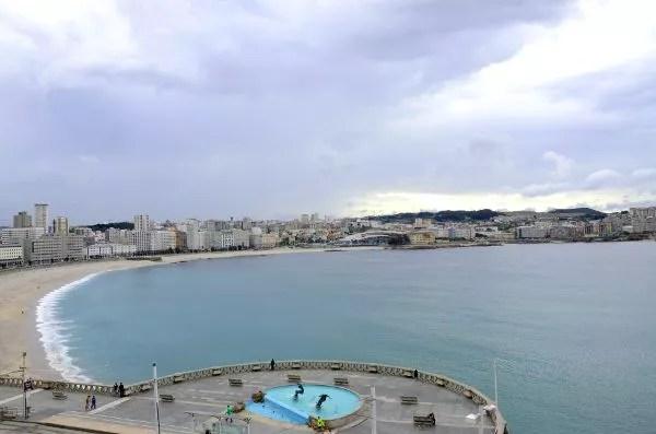 Fotos de A Coruña, paseo marítimo
