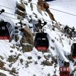 Fotos de Aiguille du Midi en Francia, cabinas de teleférico