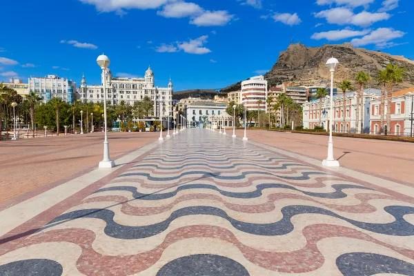 Fotos de Alicante, Explanada y Castillo de Santa Bárbara
