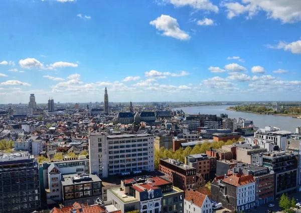 Fotos de Amberes, MAS Museum aan de Stroom vistad desde la azotea