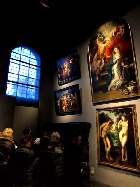 Fotos de Amberes en Flandes, Adan y Eva Casa Museo de Rubens