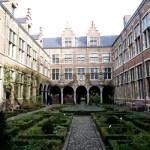 Fotos de Amberes en Flandes, jardin Museo Plantin Moretus