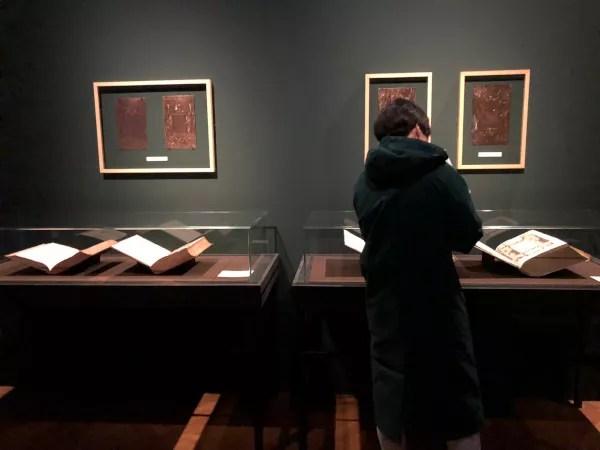 Fotos de Amberes en Flandes, libros Museo Plantin Moretus