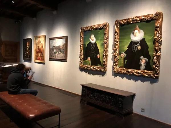 Fotos de Amberes en Flandes, obras Casa Rockox