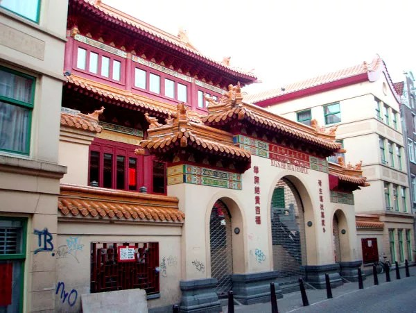 Fotos de Amstedam, templo de Guan Yin