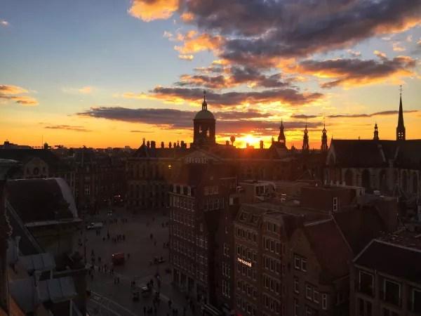 Fotos de Amsterdam, atardecer