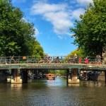 Fotos de Amsterdam, canales y bicicletas
