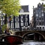 Fotos de Amsterdam, puente sobre el canal