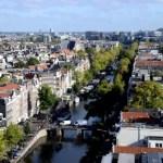 Fotos de Amsterdam, vistas desde la iglesia Westerkerk