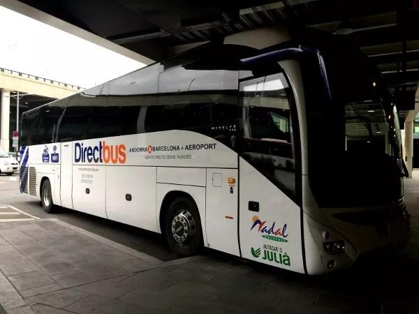 Fotos de Andorra, autobus Direct Bus