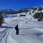 Fotos de Andorra, raquetas de nieve en Grau Roig
