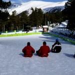 Fotos de Andorra, trineos en Naturlandia
