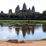 Fotos de Angkor, vista general de Angkor Wat