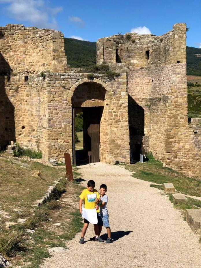 Fotos de Aragón, Teo y Oriol Castillo de Loarre