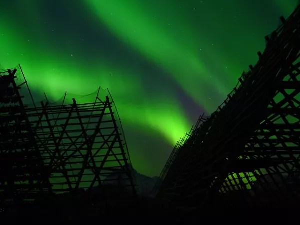 Fotos-de-Auroras-Boreales-en-Noruega ▷ El mejor lugar de Noruega para ver la aurora boreal