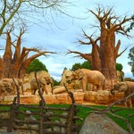 Fotos de BIOPARC Valencia, manada de elefantes