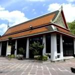 Fotos de Bangkok, Wat Pho pabellon de masajes