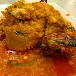 Fotos de Bangkok. Qué comer, curry de cangrejos