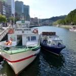Fotos de Bilbao, barca para navegar la ria