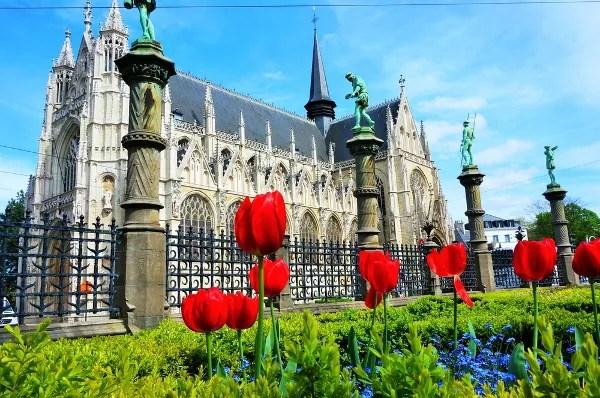 Fotos de Bruselas, Catedral de San Miguel y Santa Gúdula
