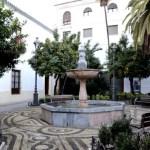 Fotos de Córdoba, placita con naranjos