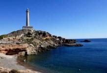 Fotos de Cabo de Palos en Murcia, faro horizontal