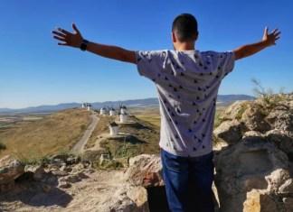 Fotos de Castilla La Mancha, Pau y los molinos de Consuegra