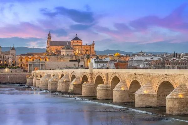 Fotos de Cordoba, el Guadalquivir desde el Puente Romano