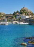 Fotos de Corfu en Grecia, Fortaleza Vieja vertical