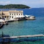 Fotos de Corfu en Grecia, playa urbana