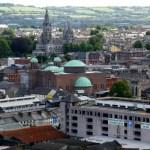 Fotos de Cork en Irlanda, panoramica de la ciudad