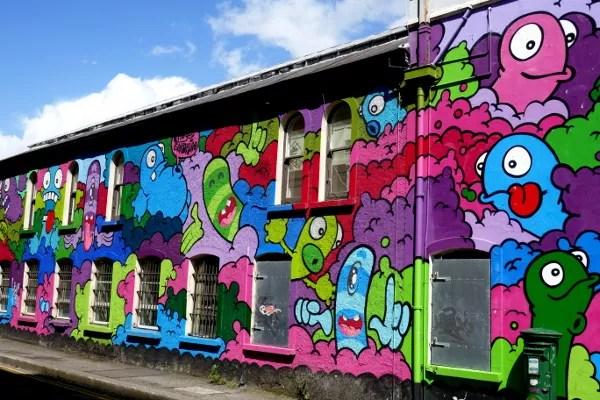Fotos de Cork en Irlanda, street art