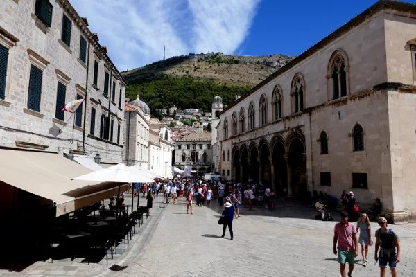 Fotos de Dubrovnik en Croacia, Palacio del Rector