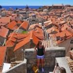 Fotos de Dubrovnik en Croacia, vistas desde las murallas