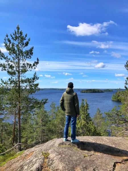 Fotos de Finlandia, Pau en Linnansaari